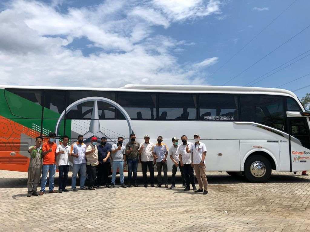 Cahaya Bone Tambah unit Armada Big Bus,tingkatkan layanan pelanggan