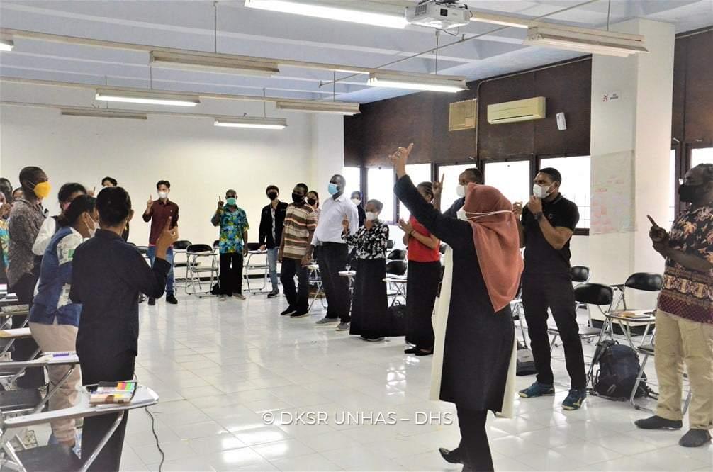 Fakultas keperawatan UNHAS Gelar pelatihan Motivasi