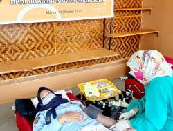Kemenkumham Sulsel Apresiasi 25 Pegawai LPKA Maros Ikuti Donor Darah