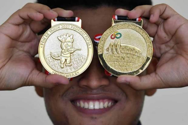 Klasemen Sementara Perolehan Medali PON XX Papua 2021 Hari Ini