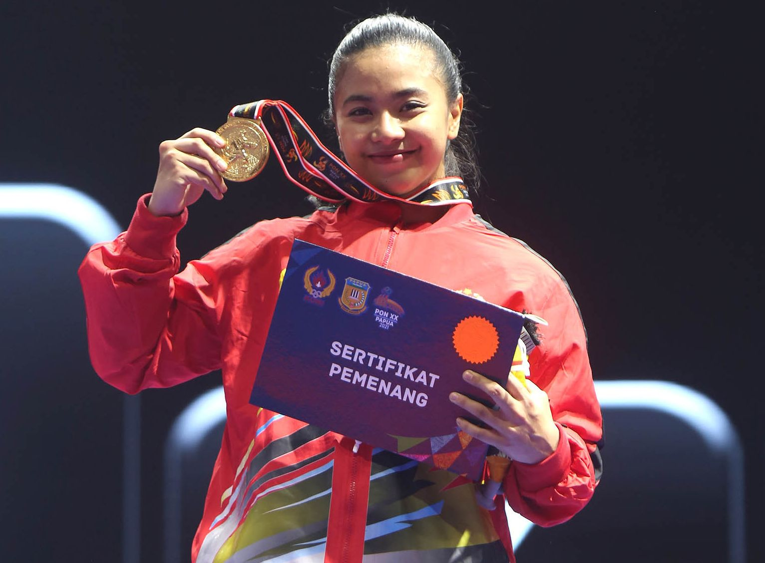 Krisda Putri Sabet Medali Kedelapan Sulsel di PON XX Papua