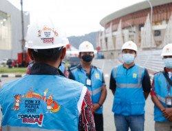 PLN Pastikan Keandalan Kelistrikan Demi Sukseskan Penutupan PON Papua