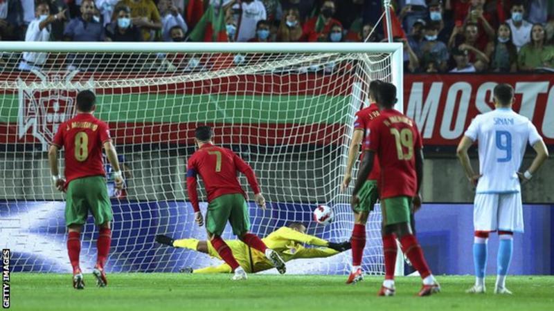 Portugal vs Luksembur: Ronaldo cetak Hattrick, Jadi Gol Internasional ke-115