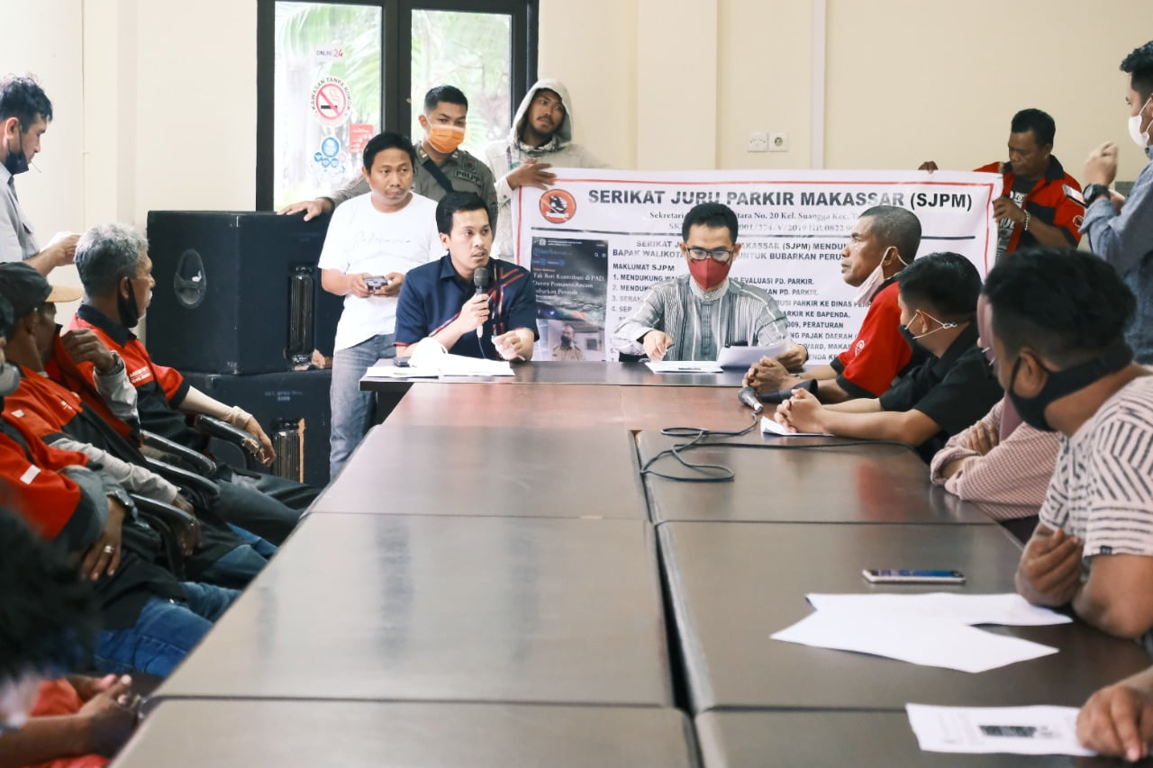Serikat Juru Parkir Makassar Keluhkan Pengelolaan Parkir Semakin Amburadul
