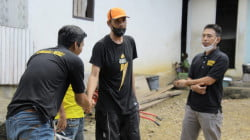 Terima Bantuan Kebakaran, Warga Kalempang Marioriwawo: Terima Kasih Pak Supri