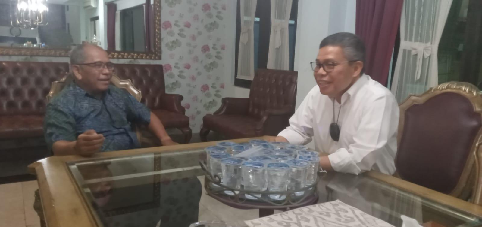 Dua tokoh politik dari partai berbeda, Taufan Pawe (TP) dan Ilham Arief Sirajuddin (IAS) mengupas dinamika politik Sulsel