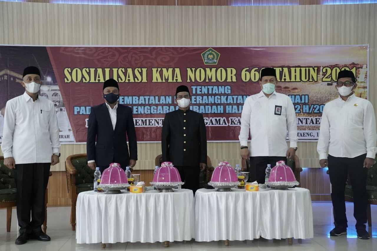 Bupati Bantaeng : Penundaan Ibadah Haji Jadi Bagian Kesabaran dan Keikhlasan Kita