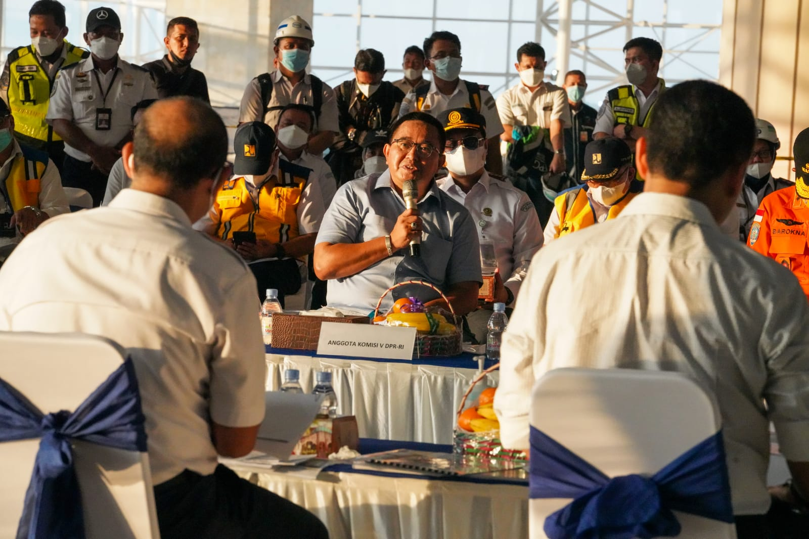 Ini Catatan Anggota Komisi V, Muhammad Fauzi Usai Kunker di Bandara Sultan Hasanuddin