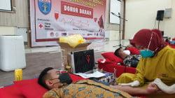 Semarak HDKD Tahun 2021, Rutan Kelas I Makassar Donor Darah