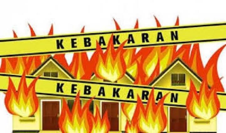 Kebakaran di Pemukiman Badui, Kerugian Capai Rp820 Juta