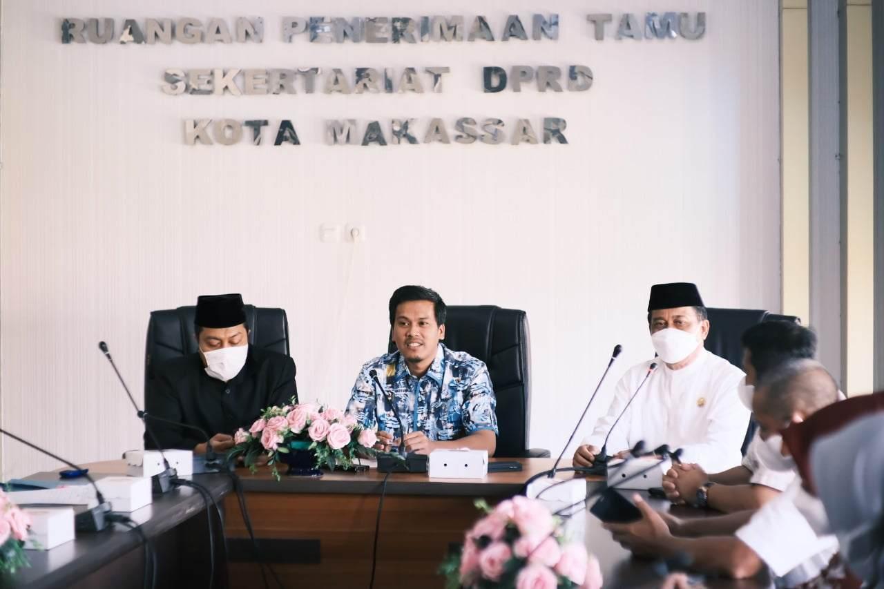 Kunjungan DPRD Wajo, WakilKetua DPRD Nurhaldin Paparkan Sejumlah Perbaikan Sistem Pendidikan