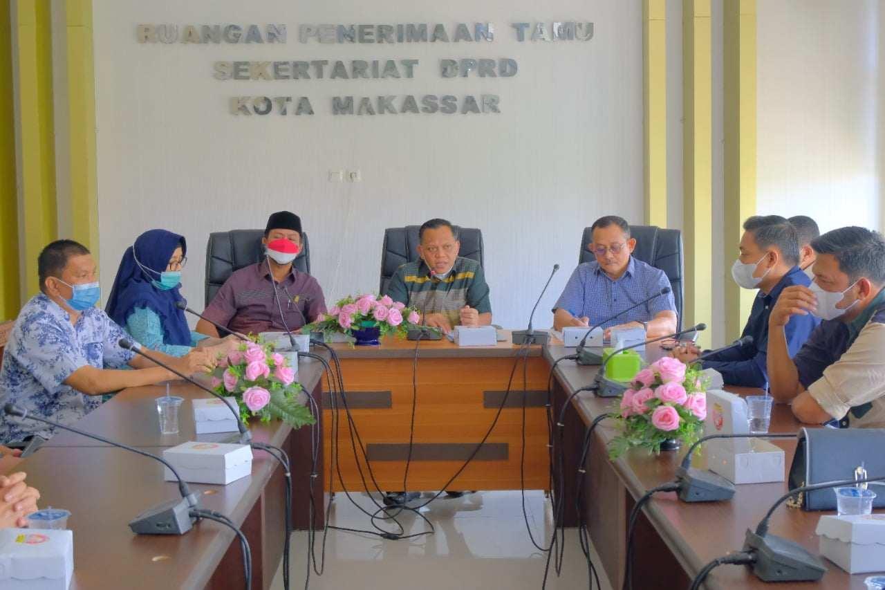 Kunjungan Banggar DPRD Sidrap, DPRD Makassar Bagi Langkah Tangani Aspirasi