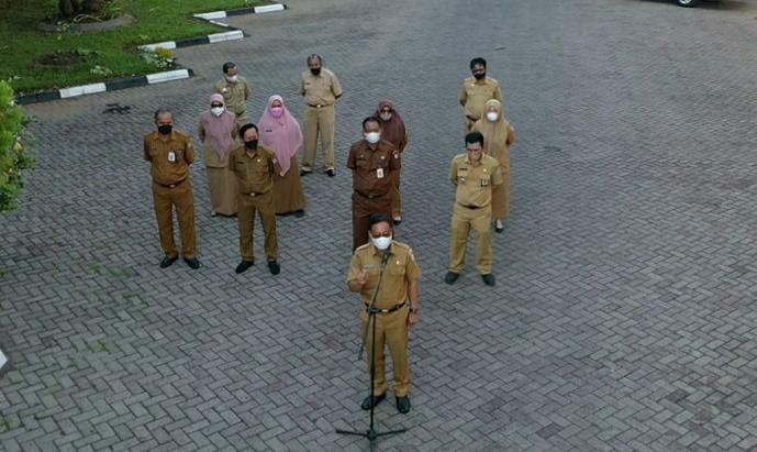 Plt Sekretaris DPRD Makassar Tekankan Kedisiplinan